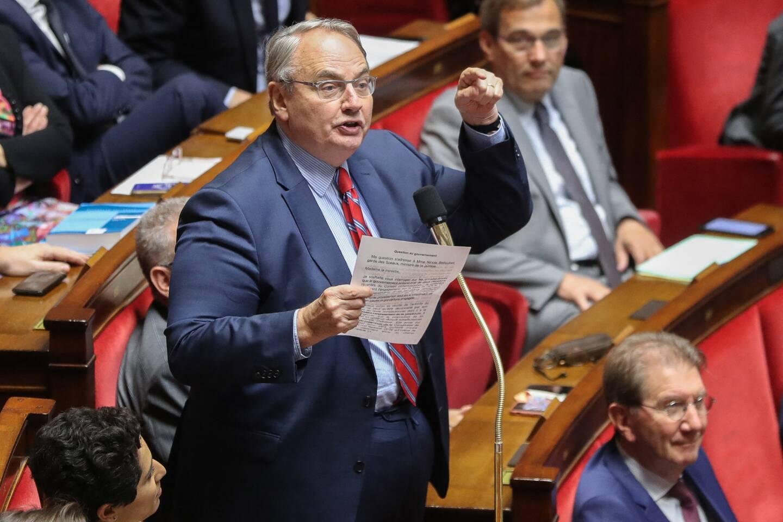 Le député du MoDem Jean-Louis Bourlanges.