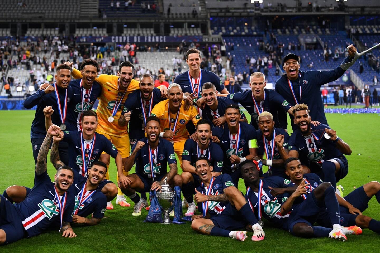 En juillet dernier, le PSG avait remporté la Coupe de France 2020.