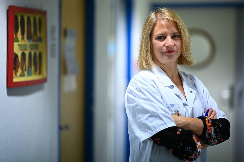 Karine Lacombe, cheffe de services des maladies infectieuses à l'hôpital St Antoine à Paris