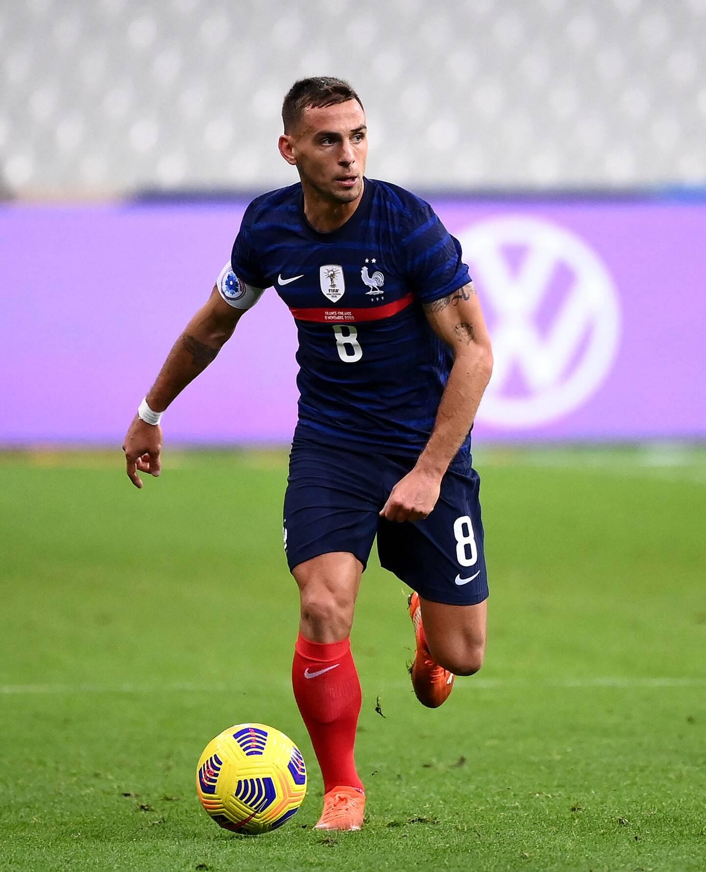 Ruben Aguilar en équipe de France.