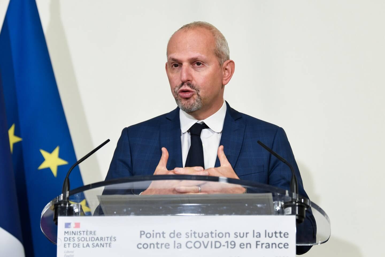 Jérôme Salomon, directeur général de la Santé.