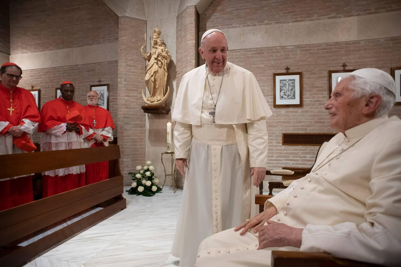 Le Pape François et Benoît XVI 14/01