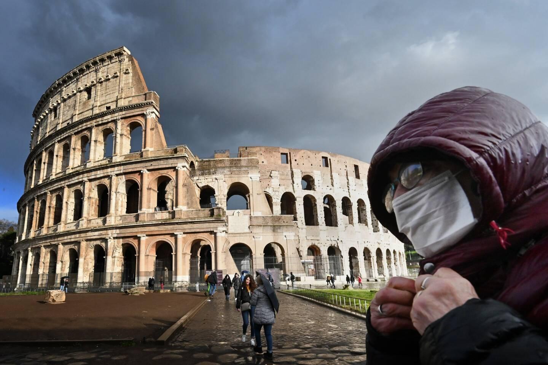 En Italie.