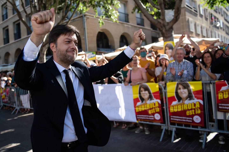 Benoît Payan, nouveau maire de Marseille.