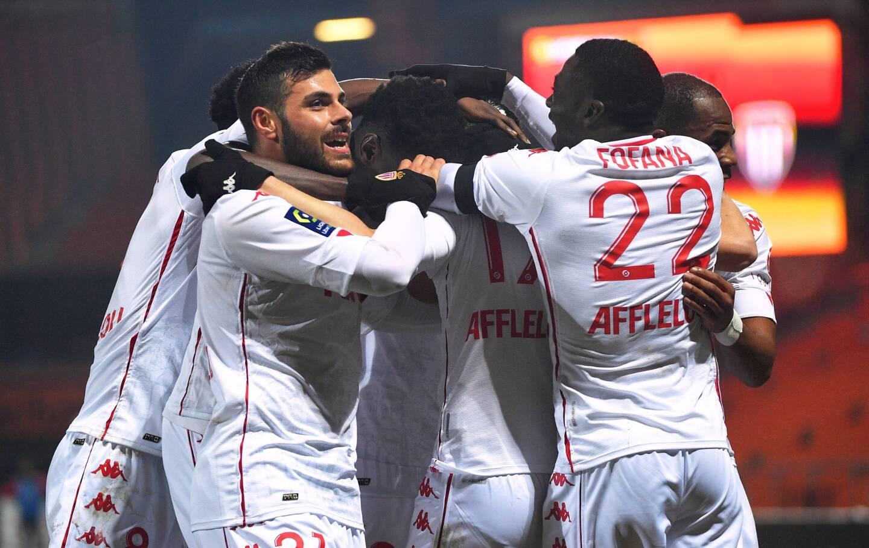 Monaco a balayé Lorient, ce mercredi soir au Moustoir (2-5).