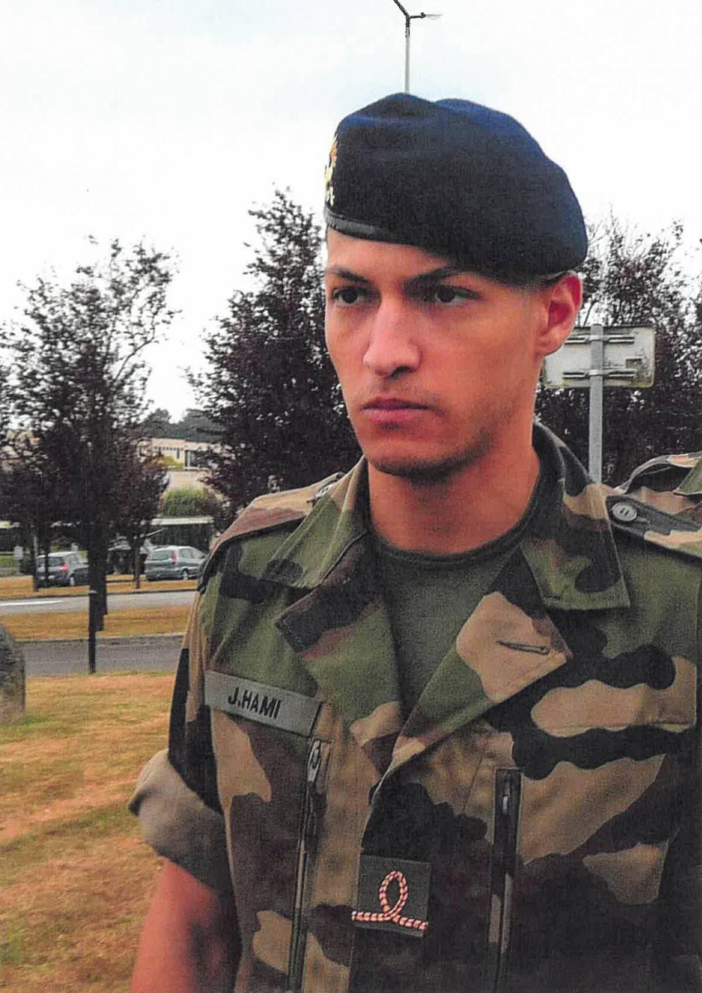 Jallal Hami, l'élève officier décédé.