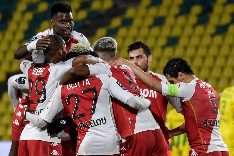 Les joueurs de l'AS Monaco.
