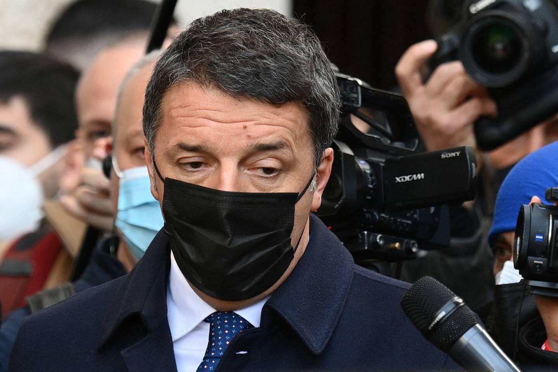 L'ex-chef du gouvernement italien Matteo Renzi.