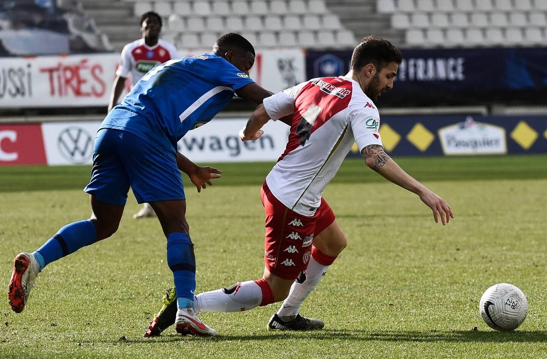 Cesc Fabregas était titulaire lors de la victoire de l'AS Monaco contre Grenoble.