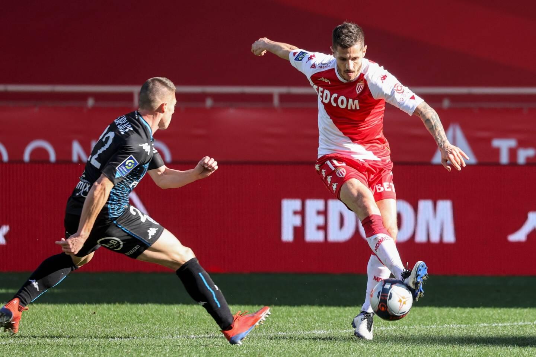 Lors de Monaco - Lorient.