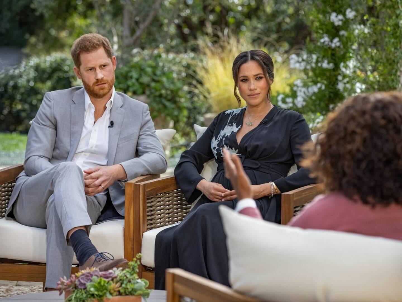 Diffusée sur CBS la nuit dernière, l'interview d'Harry et Meghan à la star de la télé américaine, Oprah Winfrey, a duré deux heures.