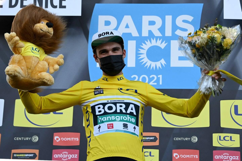 Maximilian Schachmann a remporté le Paris-Nice.