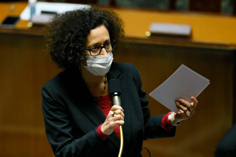 Emmanuelle Wargon lors d'une session de questions au gouvernement le 23 mars 2021.