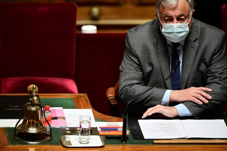 Gérard Larcher, président LR du Sénat.