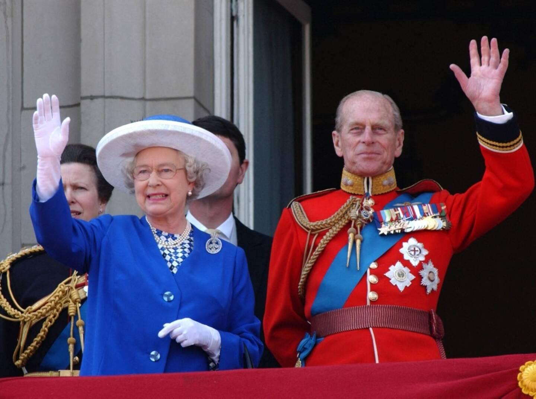 Le couple royal en 2003.
