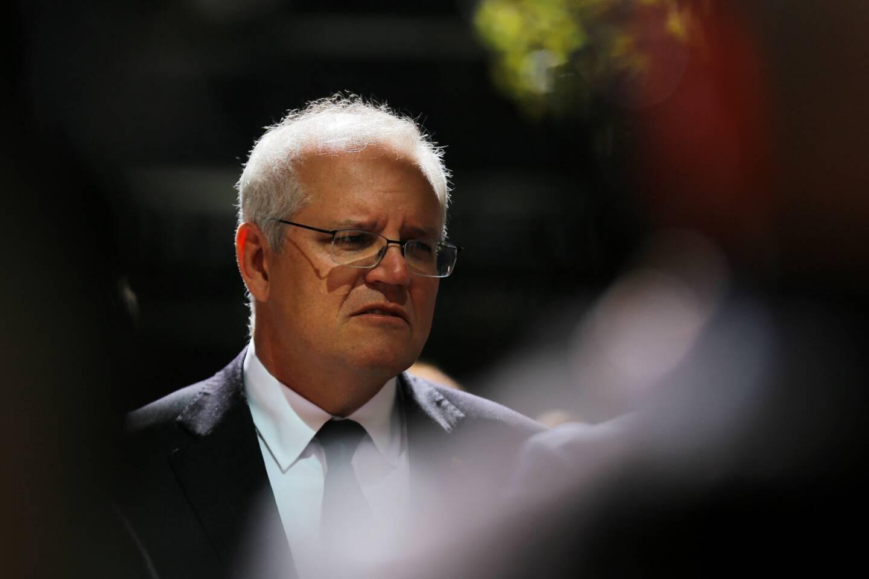 Scott Morrison, le Premier ministre australien.