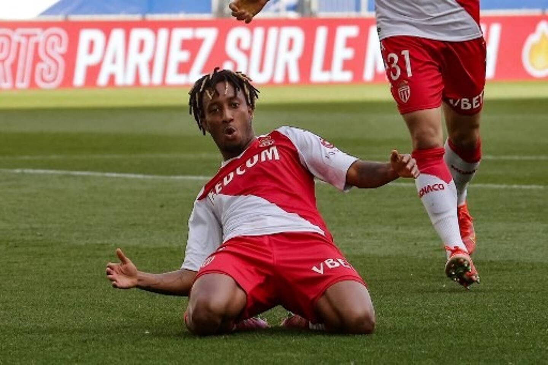 Gelson, lors de la victoire de l'AS Monaco à Bordeaux (0-3)