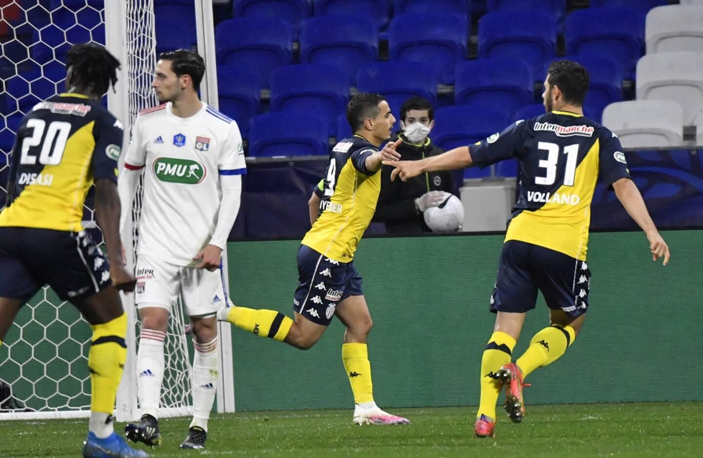 Wissam Ben Yedder, premier buteur monégasque contre Lyon.
