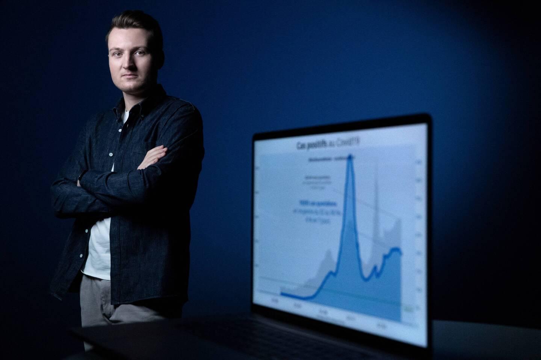 """A tout juste 24 ans, Guillaume Rozier est devenu le """"date scientist"""" du moment."""