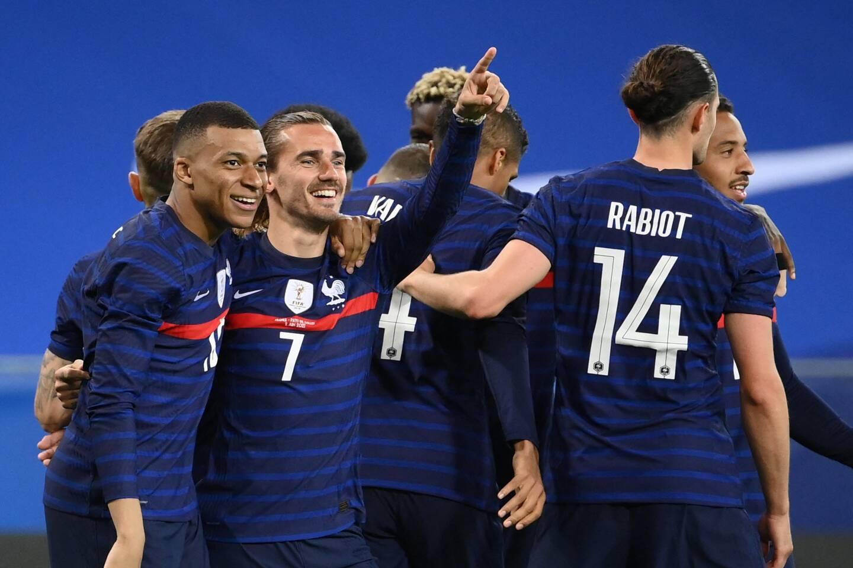 L'equipe de France de Football.
