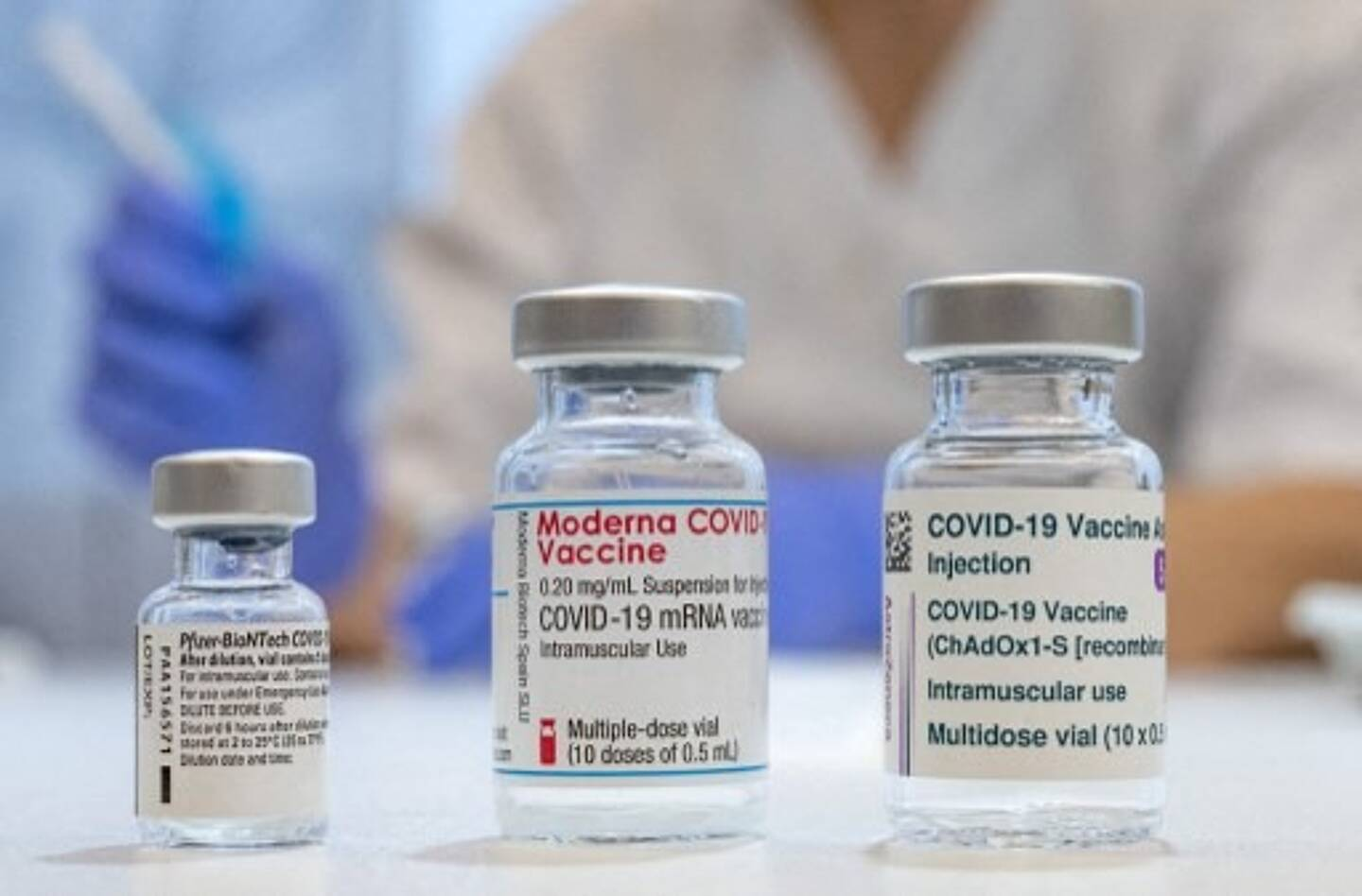 Illustration des vaccins contre la Covid-19