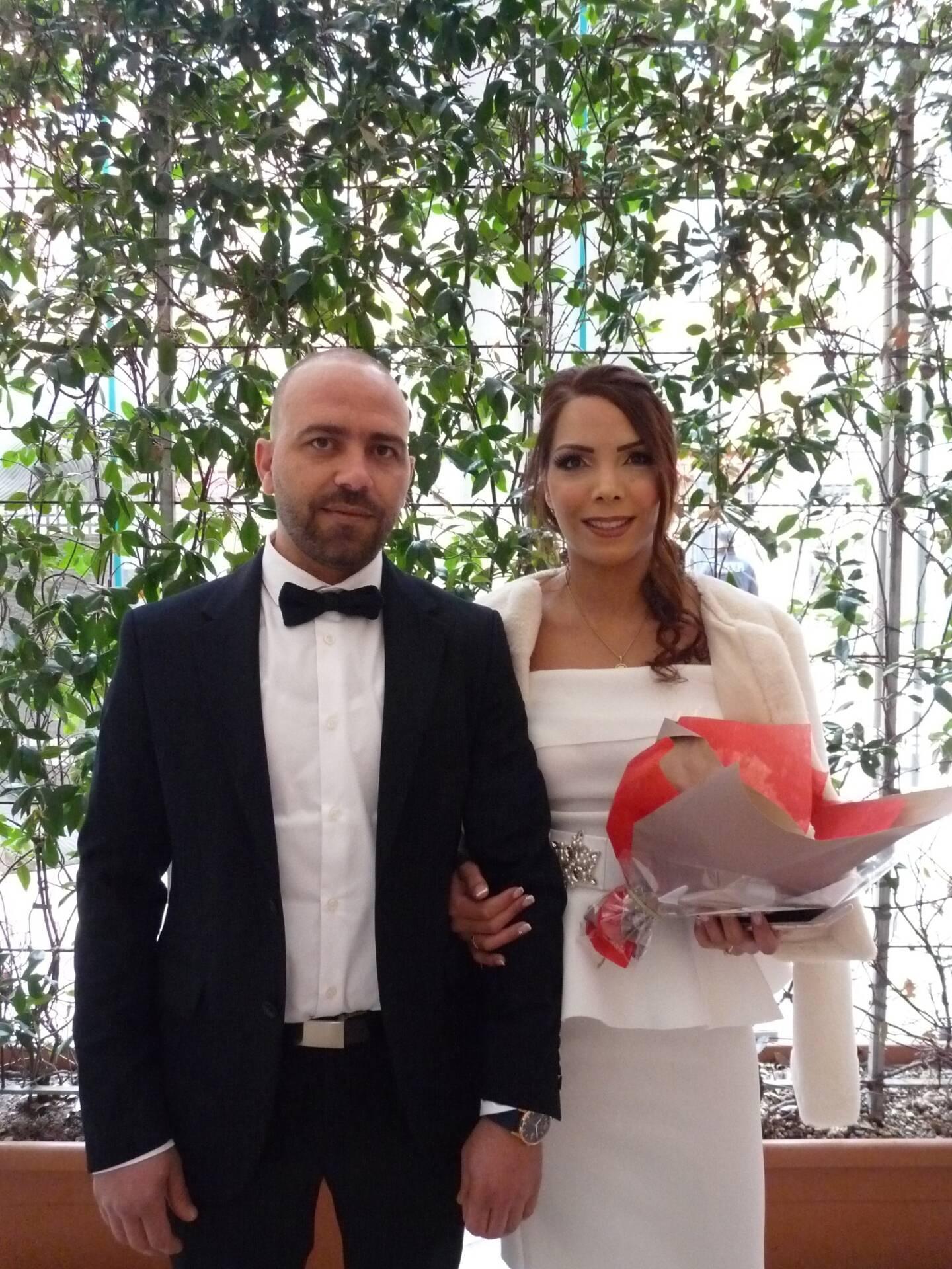 Thamer Saihi, architecte et Safa Gafsaoui, vendeuse.