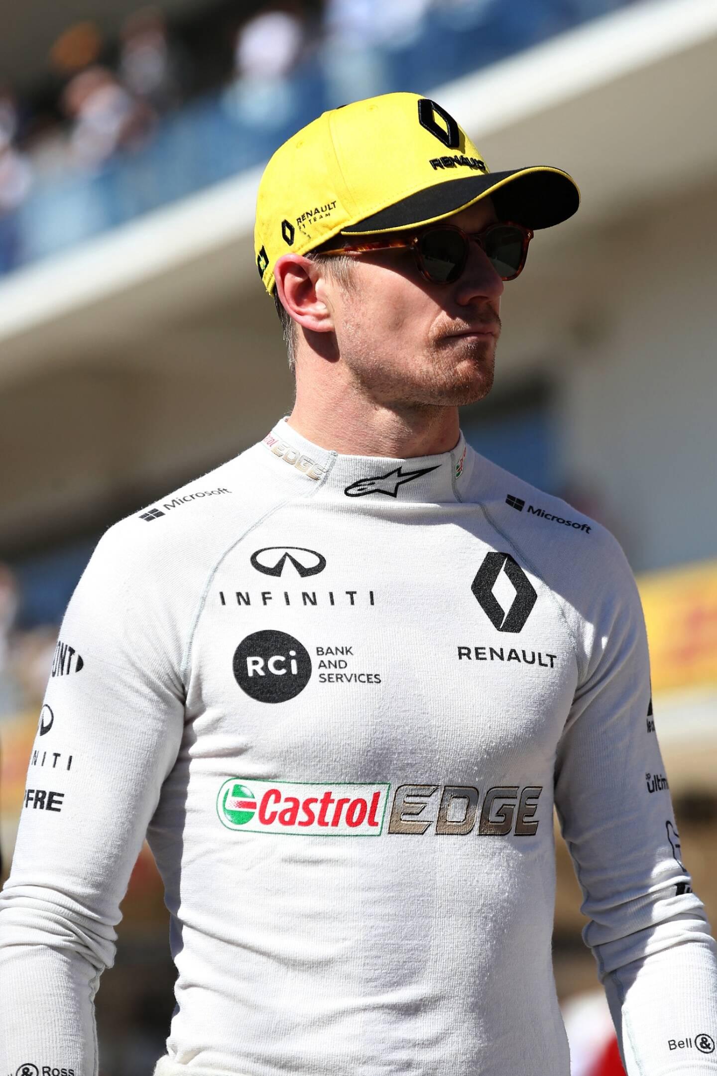 Nico Hülkenberg n'est plus chez Renault.