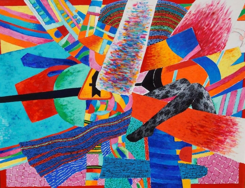 Cette œuvre de Georges Collignon (1923-2002) sera proposée aux enchères ce mercredi.