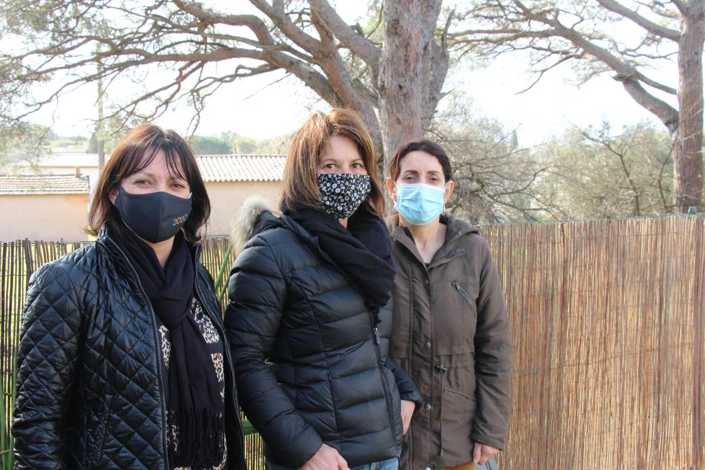 Mélanie Béraud, Vanessa Durbec et Pascale Denis craignent que leur propriété soit dévalorisée.