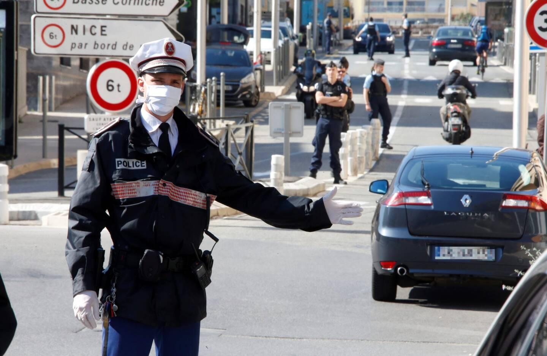 Depuis ce lundi, les contrôles à la frontière monégasque se sont intensifiés.