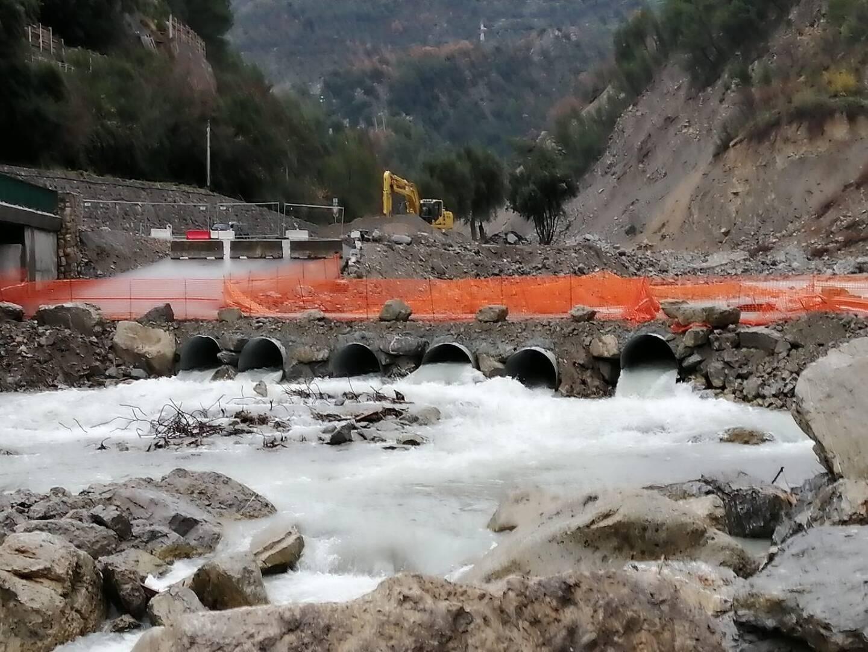 Le pont de Perthus, à Breil-sur-Roya, sera le premier reconstruit. Livraison prévue au printemps 2021.