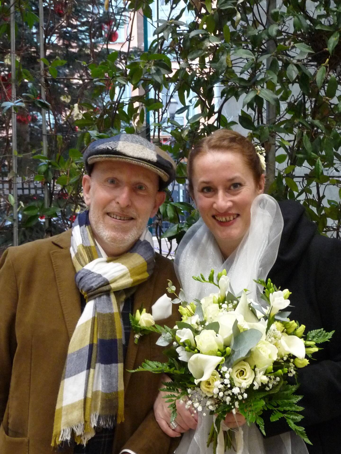 Michel Carnet et Florence Fort, enseignants.