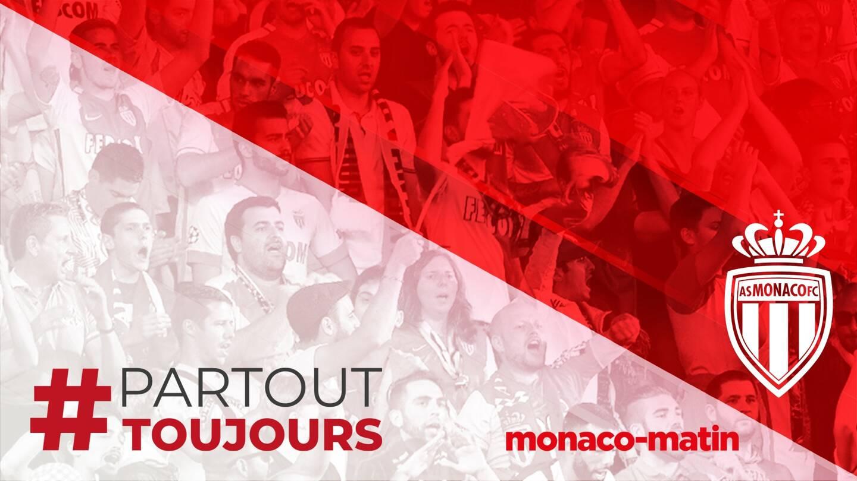 L'AS Monaco et Monaco-Matin s'unissent pour les fans derrière le hashtag #PartoutToujours.