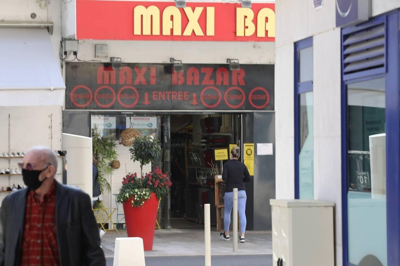 Maxi Bazar à Cagnes-sur-Mer ce jeudi matin.