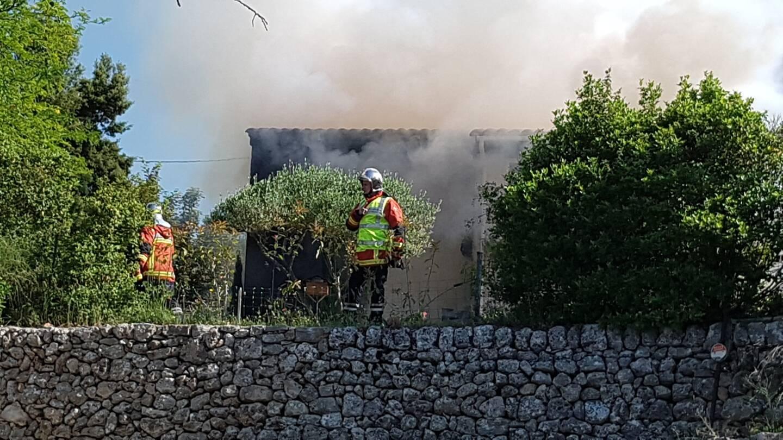 Une villa a été touchée ce matin par un incendie, à Montfort-sur-Argens, chemin du Clon.