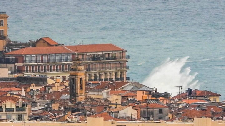 Le quai Rauba Capeu... vu de Pessicart.