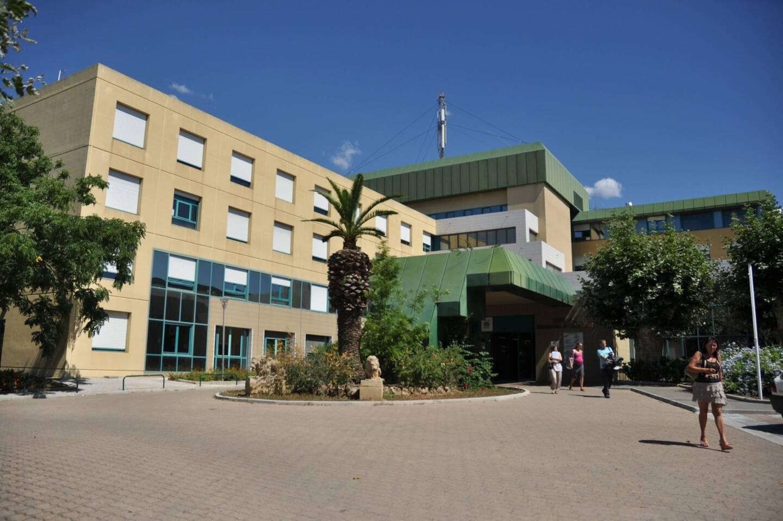 Le centre hospitalier d'Hyères.