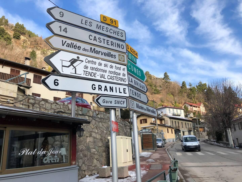 Des pistes vont être aménagées pour relier Castérino à Tende, et Granile à Berghe. ()