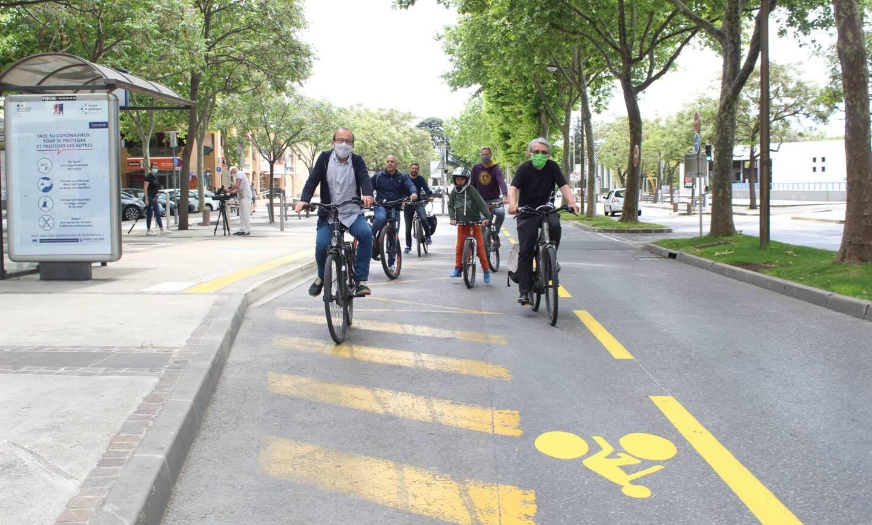 25% des personnes interrogées font du vélo entre 1 à 3 fois par semaine.