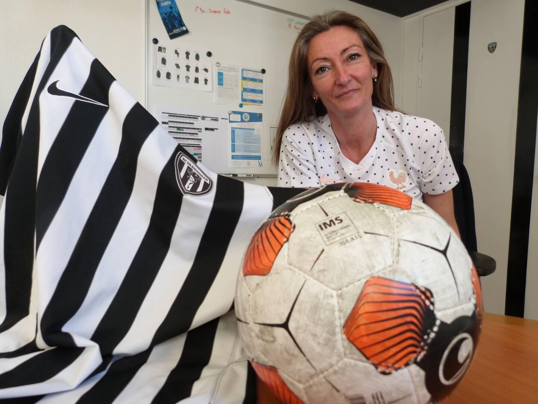 Sophie Caudrelier, une authentique fée pour le Sporting club Draguignan.