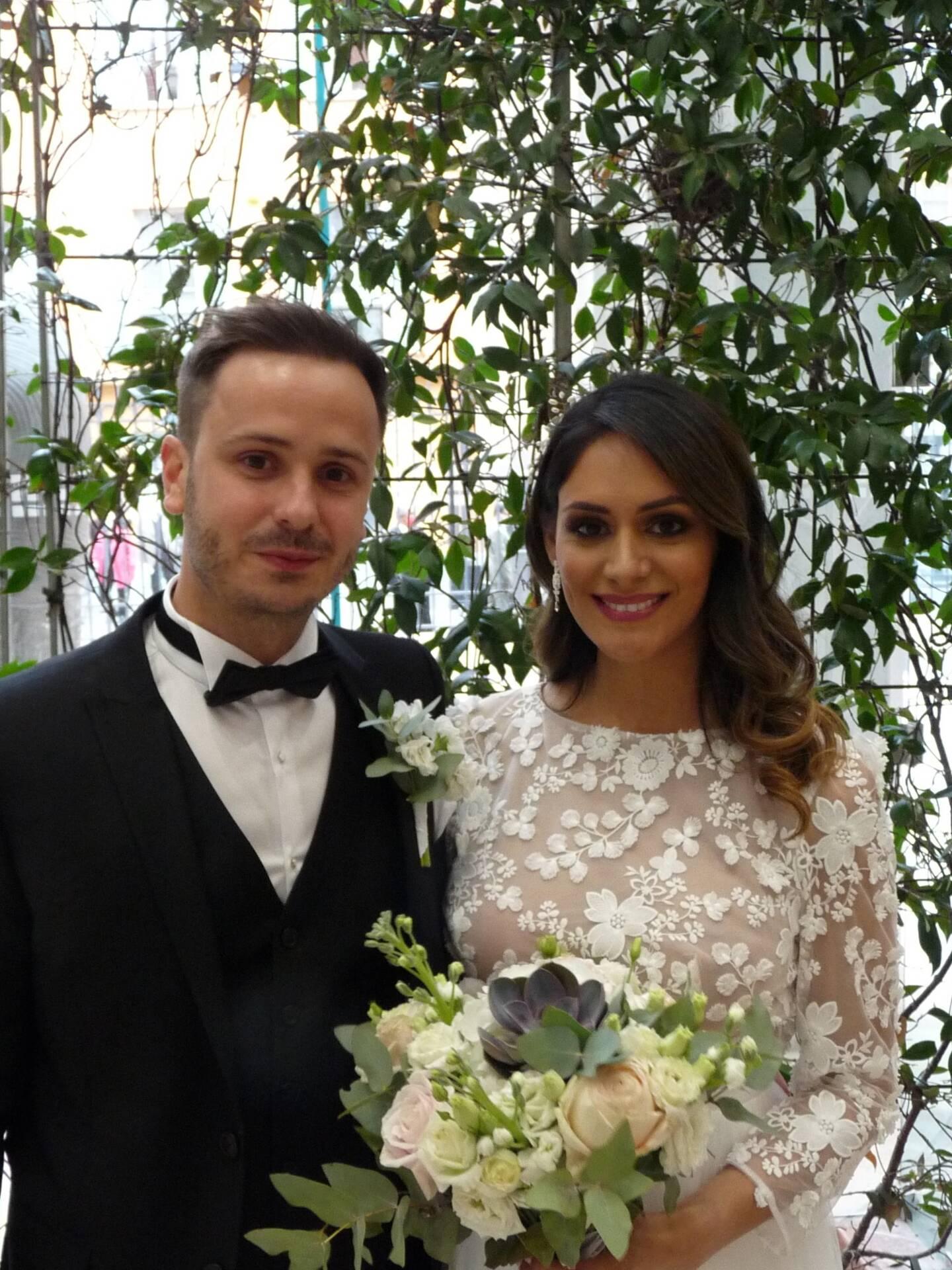 Anthony Correia-Prazeres, consultant, et Angela Castro-Heredia, agent de voyages.