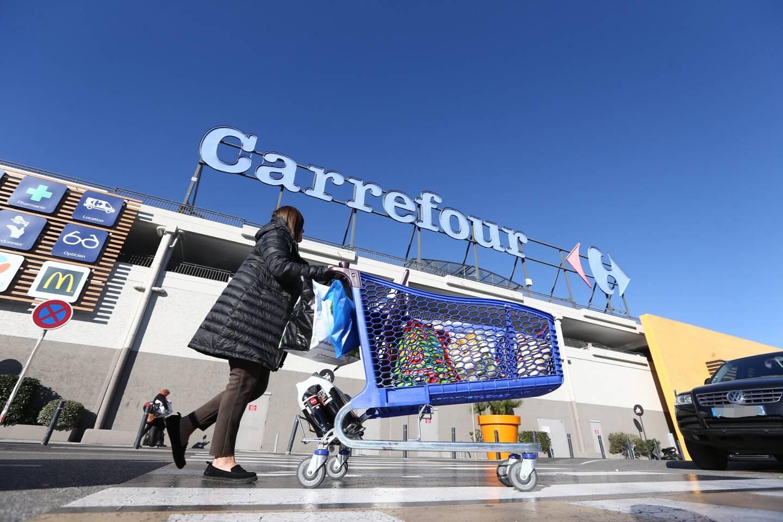 L'hypermarché Carrefour d'Antibes, le plus grand de France (image d'illustration).