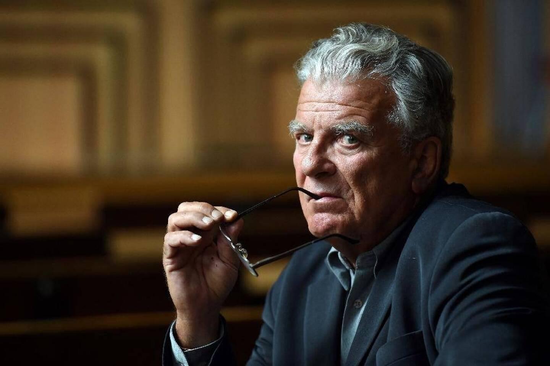 Le politologue Olivier Duhamel, à Paris le 19 mai 2016.