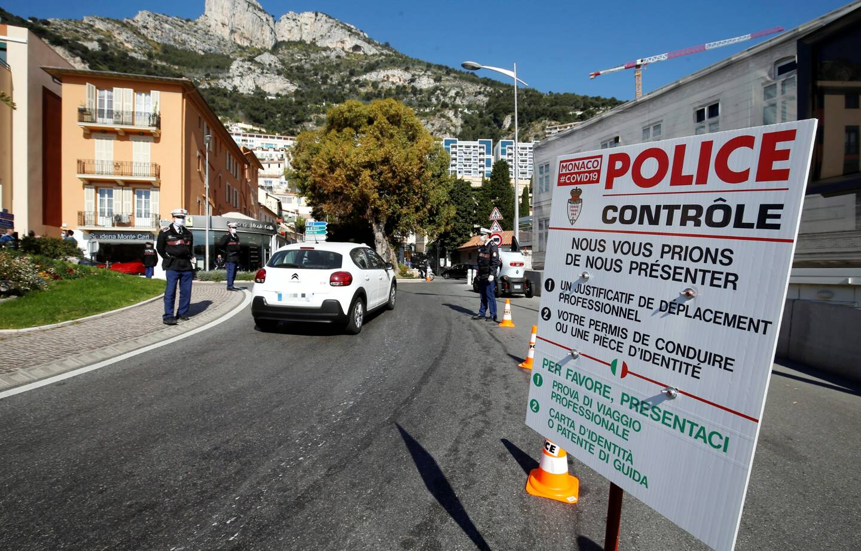 Il faudra montrer patte blanche à l'entrée de Monaco le 31 au soir.