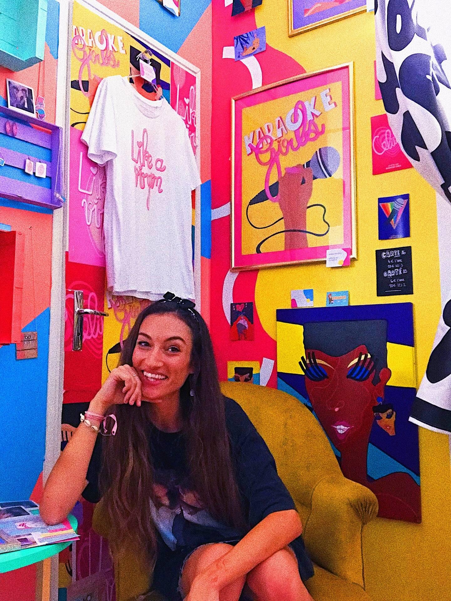 Jessica Palermi et son cabinet de curiosités, à l'Ouvre-boîte de Nice