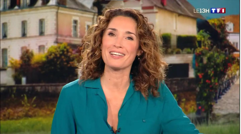 Marie-Sophie Lacarrau est au 13H de TF1 désormais.
