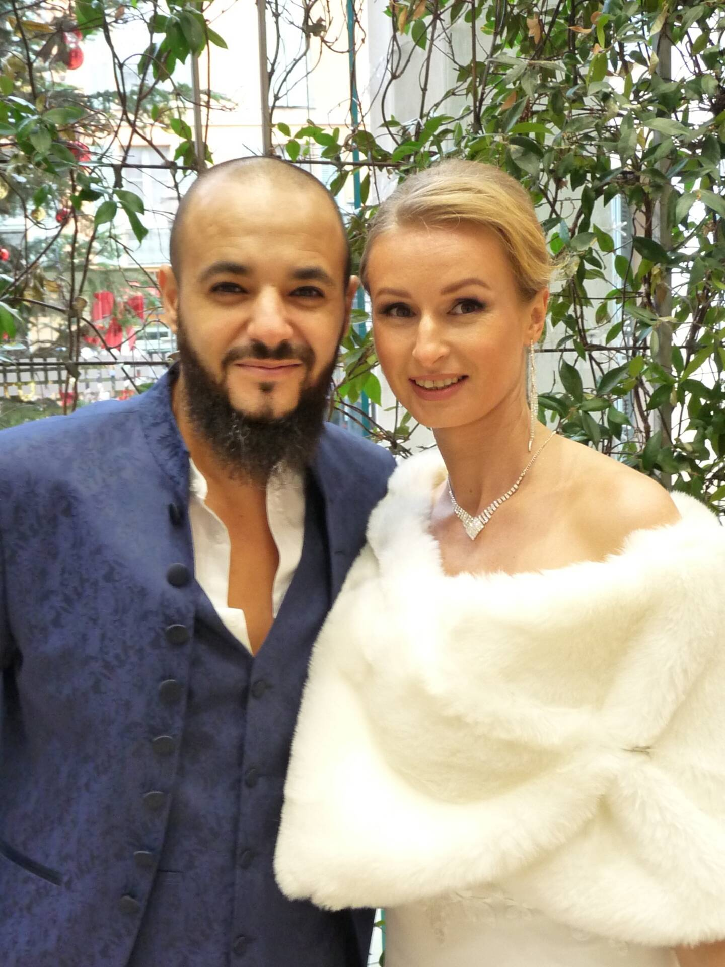 Mansour Beghdad, commercial, et Ekaterina Volynec, photographe.