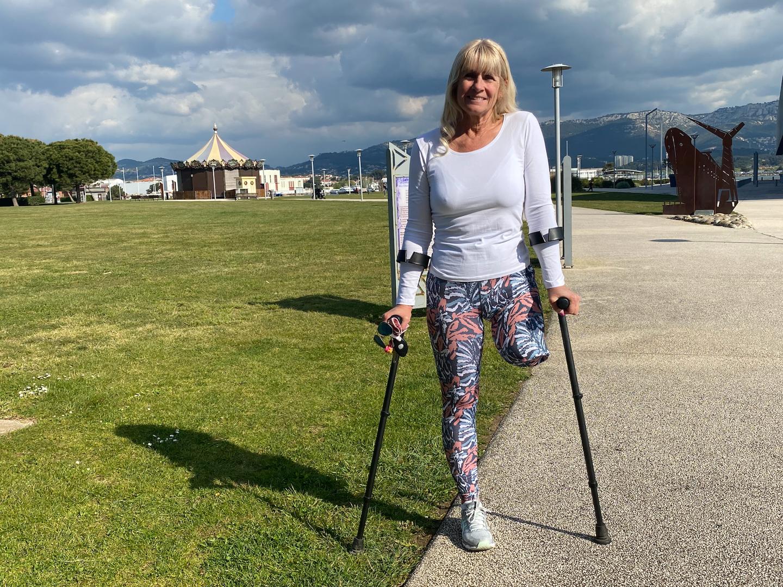 Valérie Hirschfield se prépare à relever un nouveau défi le 19 mai prochain sur le pont-levant, qu'elle gravira cinq fois.