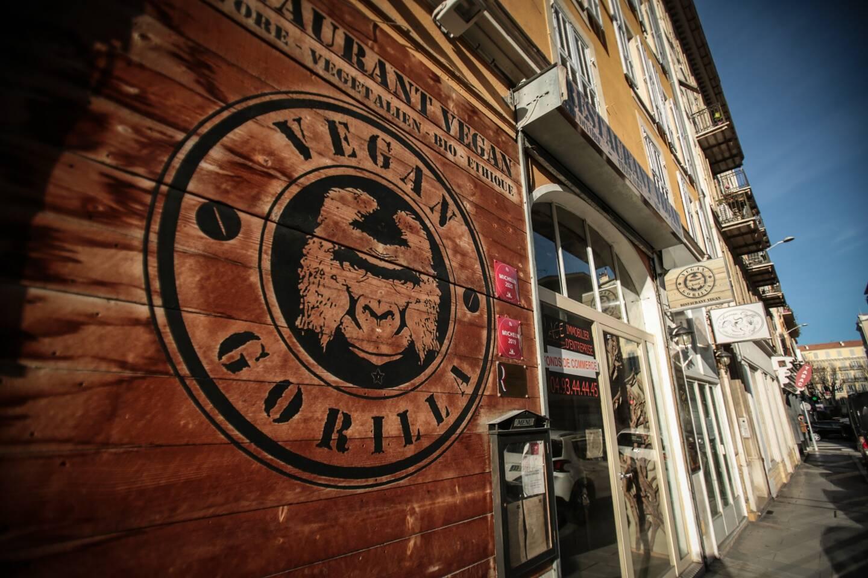 Ouvert depuis 2016, le Vegan Gorilla est situé rue du lycée, dans le centre-ville de Nice.