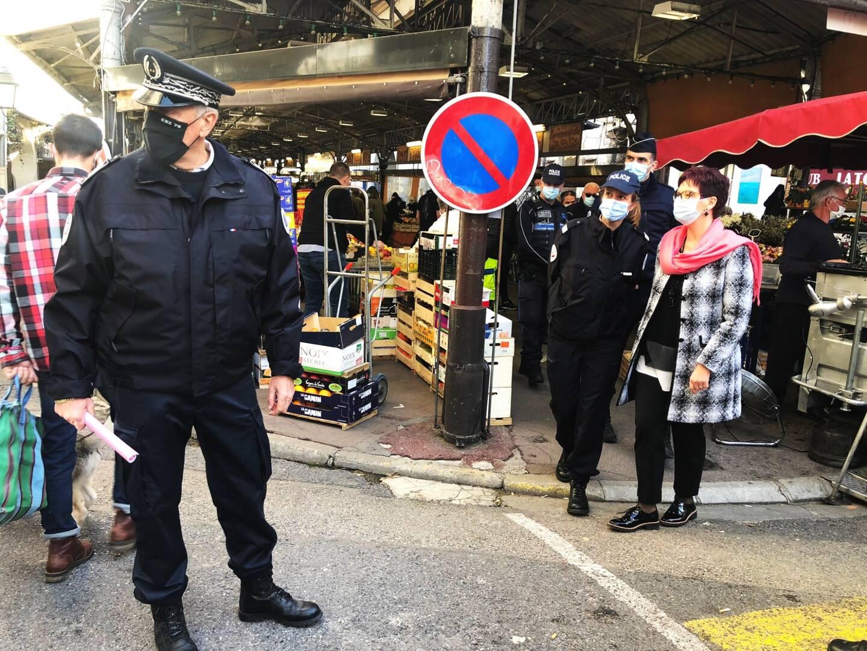 Une vaste opération de contrôle a été menée par la police dans la vieille ville d'Antibes ce dimanche.